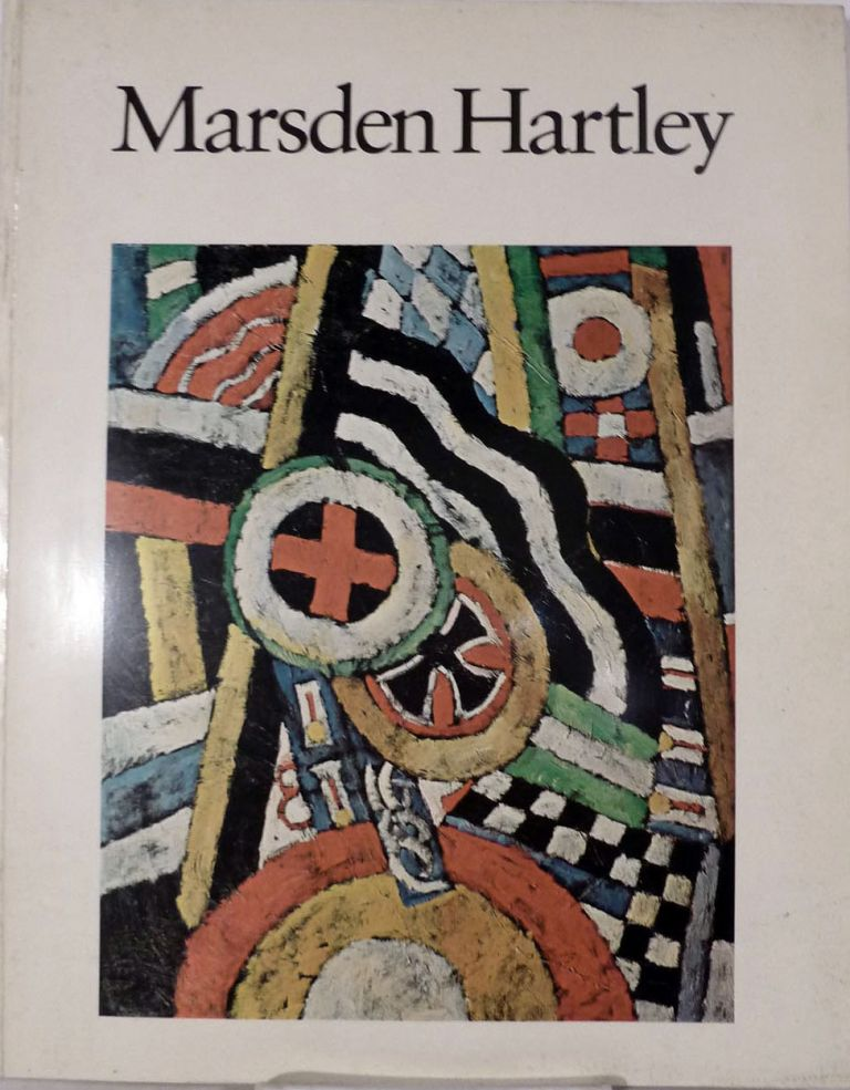 Marsden Hartley. Barbara Haskell.