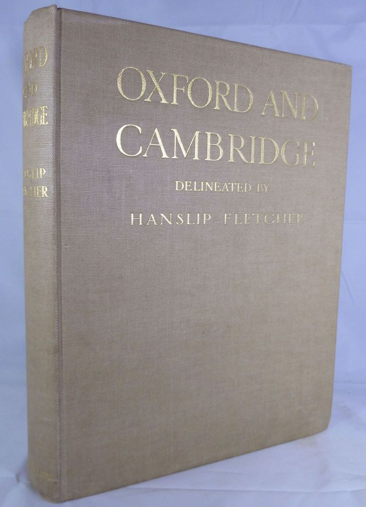 Oxford And Cambridge Delineated By Hanslip Fletcher. J. Willis Clark, Introduction.