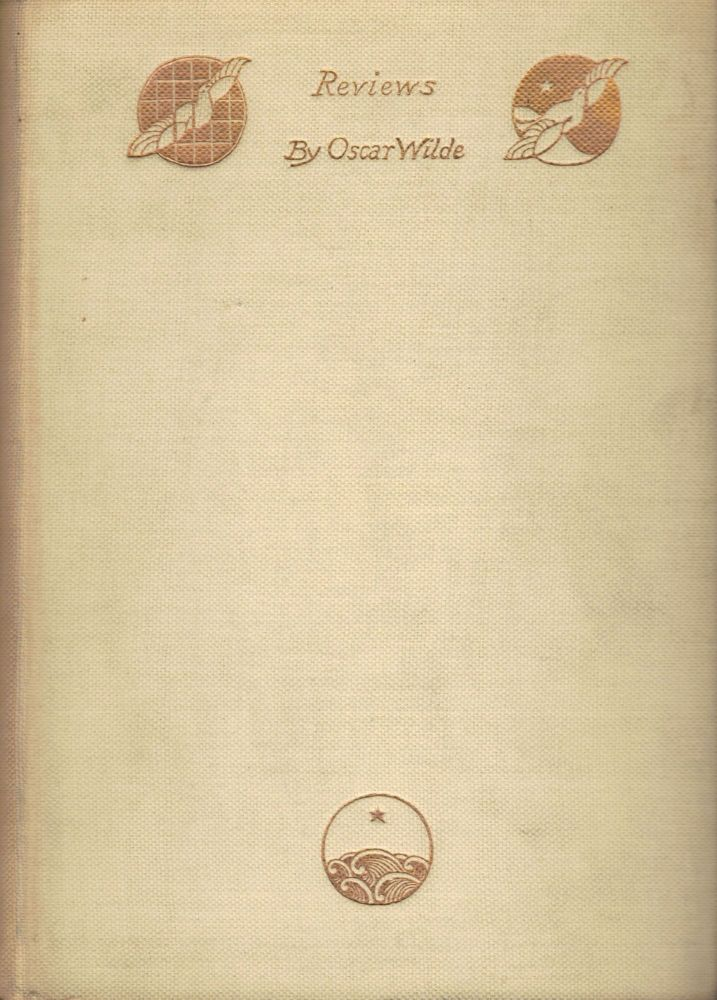 Reviews. Oscar Wilde.