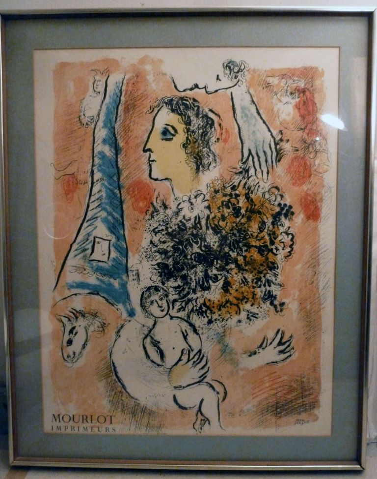 Poster. Marc Chagall.
