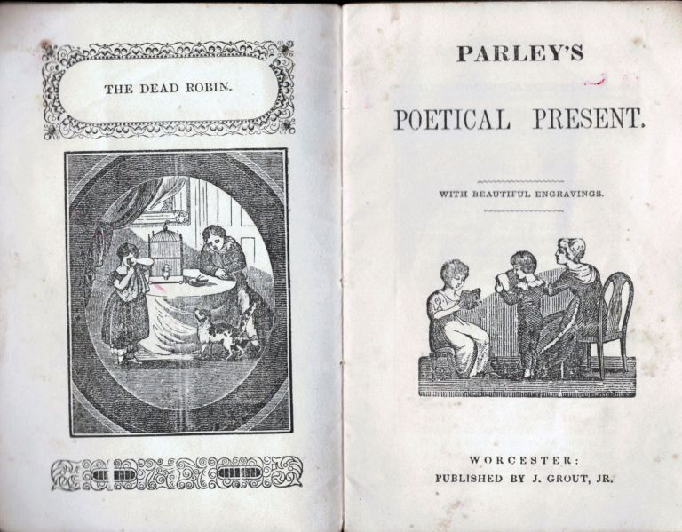 Parley's Poetical Present. Chap Book.