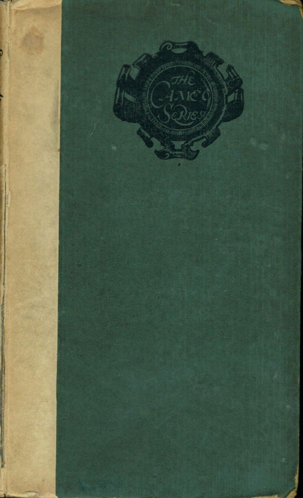 The Countess Kathleen And Various Legends and Lyrics; Cameo Series. William Butler Yeats.
