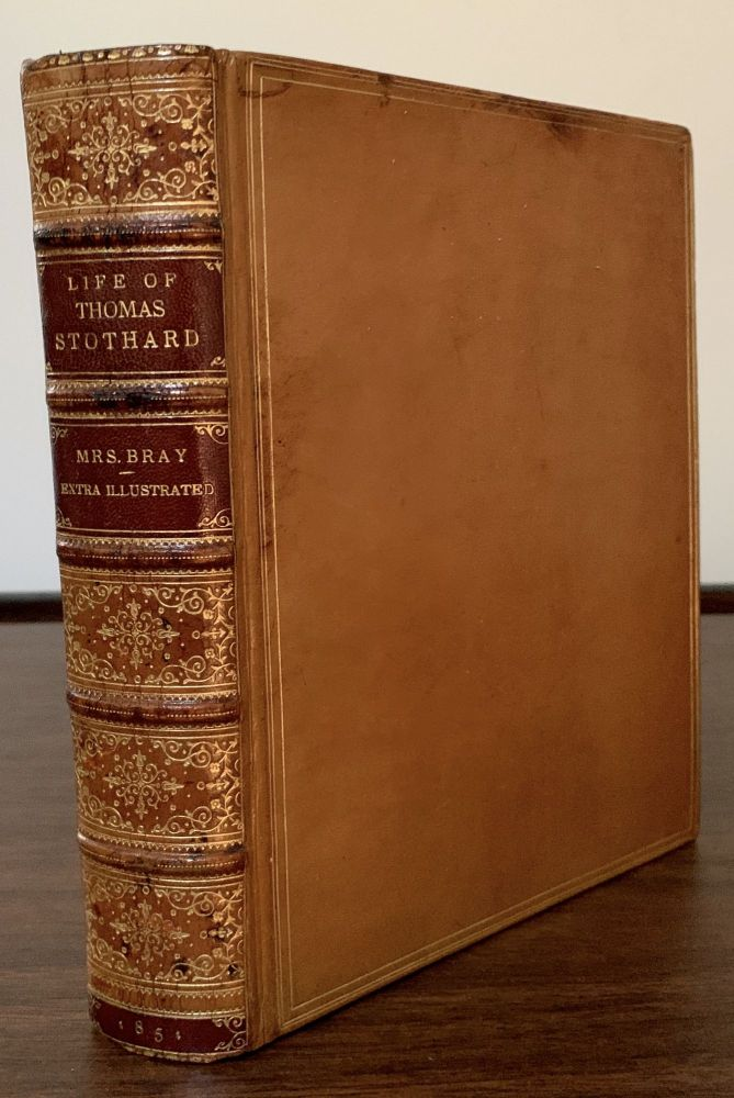 Life Of Thomas Stothard, R.A. With Personal Reminiscences By Mrs. Bray. Anna Eliza Bray.