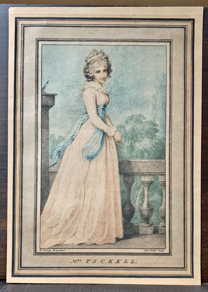 Mrs. Ticknell. Richard R. A. Cosway, 1742- 1821.