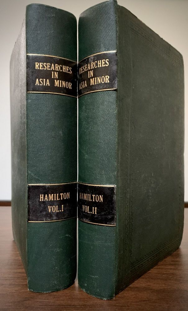 Researches In Asia Minor, Pontus, And Armenia; With Some Account Of Their Antiquities And Geology. John William Hamilton.