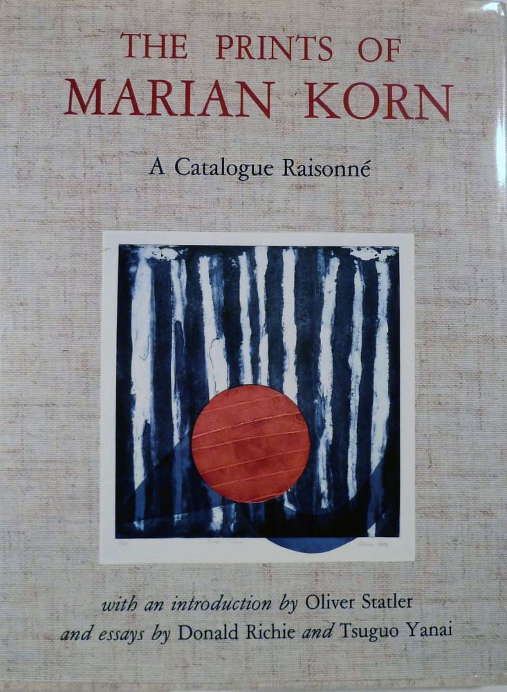 The Prints of Marian Korn A Catalogue Raisonne. Marian Korn, Illustrator.