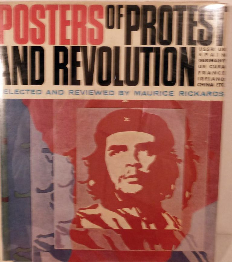Posters Of Protest And Revolution. Maurice Rickards.