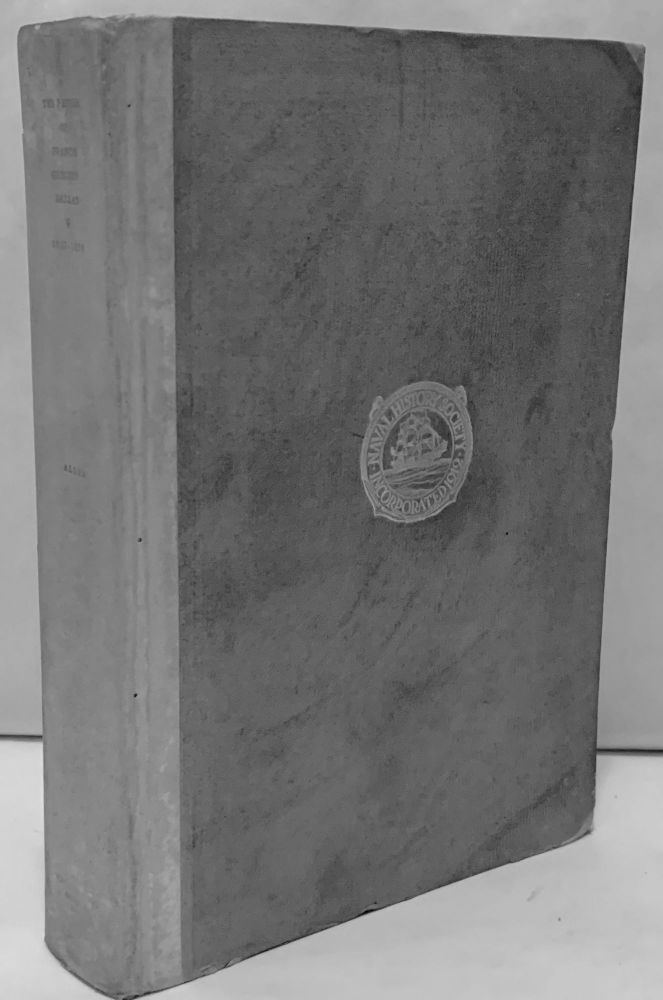 The Papers of Francis Gregory Dallas United States Navy Correspondence And Journal 1837-1854. Gardner W. Allen.