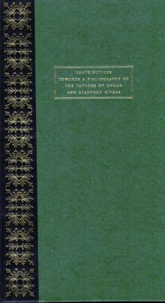Contributions Towards A Bibliography of The Taylors of Ongar and Stanford Rivers. G. Edward Harris.