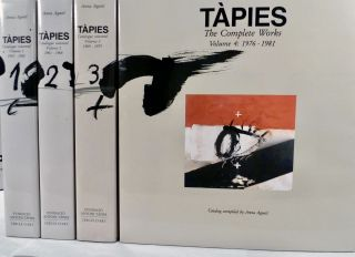 Tapies Catalogue raisonne: Vols.1-4, 1943-1981. Anna Augusti