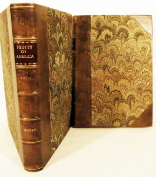 The Fruits Of America, Containing Richly Colored Figures, And full descriptions On All The...