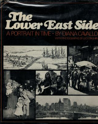 The Lower East Side A Portrait in Time. Diana Cavallo