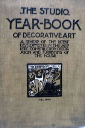 The Studio Yearbook of Decorative Art, 1913. Geoffrey Holme