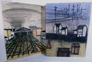 Bernard Buffet Lithographs 1952-1966; Catalogue Compiled By Fernand Mourlot. Bernard Buffet.
