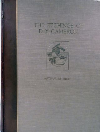 Cameron's Etchings: A Study & A Catalogue. Frederick Wedmore.