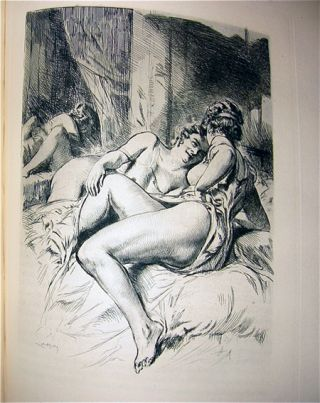 Le Journal d'une Femme de Chambre by Octave Mirbeau [The Journal of a Chambermaid]. Almery Lobel-Riche, Illustrator psuedonym of RICHE ALMERIC.