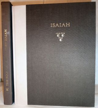 The Book Of The Prophet Isaiah. The King James Version. Isaiah