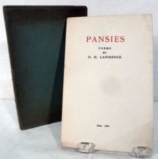 Pansies; Poems. D. H. Lawrence.