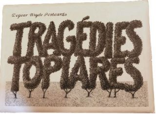Tragedies Topiares [Dogear Wryde Postcards]. Edward Gorey.