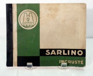 Sarlino Reims. Paris. Societe Industrielle Remoise Du Linoleum Sarlino Reims