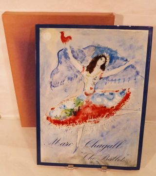 Marc Chagall Drawings and water colours for The Ballet by Jacques Lassaigne. Marc Chagall, Illustrator.