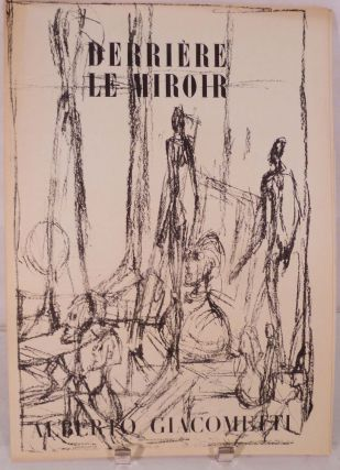 Derriere Le Miroir. Nos. 39-40, June-July 1951. Alberto Giacometti, Paris. Derriere Le Miroir.
