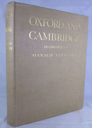 Oxford And Cambridge Delineated By Hanslip Fletcher. J. Willis Clark, Introduction