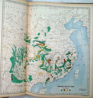 The New Atlas And Commercial Gazetteer Of China; A Work Devoted To Its Geography & Resources And Economic & Commercial Development. Containing 25 Bi-Lingual Maps, With Complete Indexes, And Many Coloured Graphs. Compiled and Translated from the latest and most authoritative surveys and records by the staff of the Far Eastern Geographical Establishment, Shanghai, China