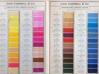 Standard Colors For Cotton. New York. John Campbell, Company.