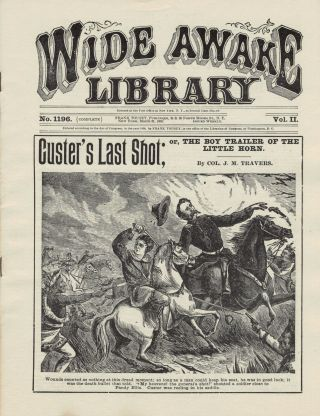 Custer's Last Shot; or, The Boy Trailer Of The Little Horn