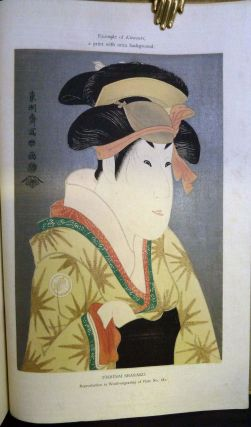 Album Of Old Japanese Prints Of The Ukiyo-Ye School; Reproduced From The Collection Of Ken-Ichi...