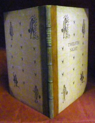 Twelfth Night Or, What You Will; With Engravings By Eric Ravilious. William Shakespeare.