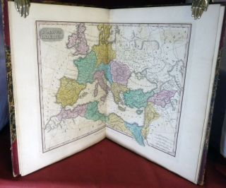 Atlas Classica: Or Select Maps Of Ancient Geography Both Sacred and Profane. Anthony Finley.
