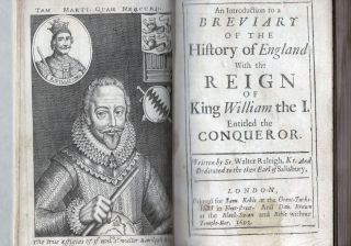 An Introduction to a Breviary Of The History of England With the Reign Of King William the I. Entitled the Conqueror BOUND WITH Jones, David & Robert Cheswell........The Wars And The Causes of them, Between England and France From William I. to William III. With a Treatise of the Salique Law