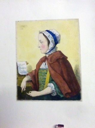 Canning Abduction Trial Hand-Colored Engraving. Elizabeth Canning.