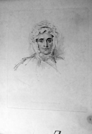 Two Trail drawings of his mother, Lucy Read Lawrence. Thomas Lawrence.