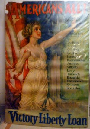 Americans All Victory Liberty Loan. Howard Chandler Christy