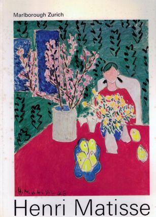 Twenty Important Paintings; September - October 1971. Henri Matisse