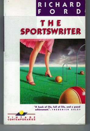 The Sportswriter. Richard Ford