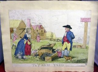 The Farm Yard. London. F. W. Fores