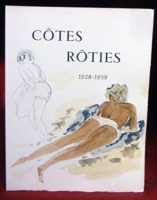Cotes Roties 1928-1938 by Leon-Paul Fargue. Andre Denoyer De Segonzac