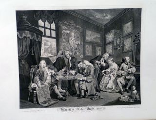Marriage A La Mode. William Hogarth