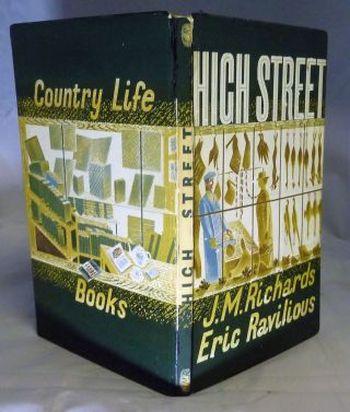 High Street. Eric Ravilious, J M. Richards