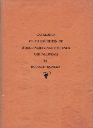 Catalogue Of An Exhibition Of Wood-Engravings, Etchings And Drawings