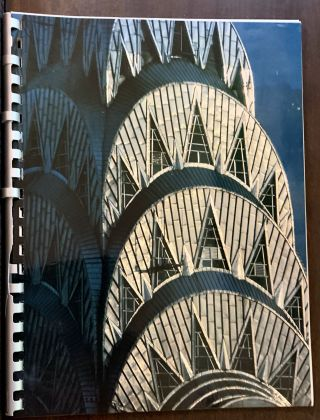 The Chrysler Building; Commemorative Booklet Issued In Conjunction With the Restoration of the...
