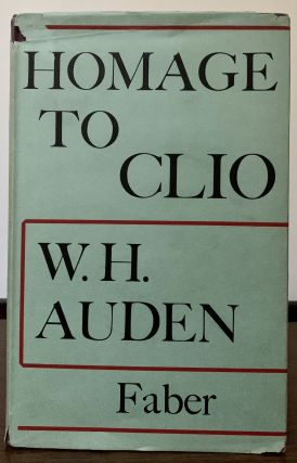 Homage To Clio. W. H. Auden