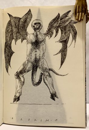 Demons * Imps * & Fiends; Drawings By Leonard Baskin