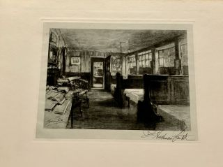 In Dickens's London: Twenty-Two Photogravure Proofs Reproducing the Charcoal Drawings by F. Hopkinson Smith
