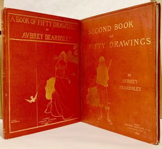 A Book Of Fifty Drawings [and] A Second Book Of Fifty Drawings; With an Iconography By Aymer...