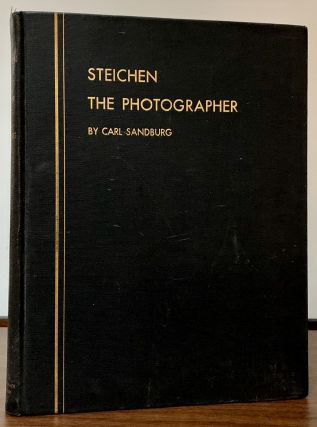 Steichen The Photographer. Carl Sandburg